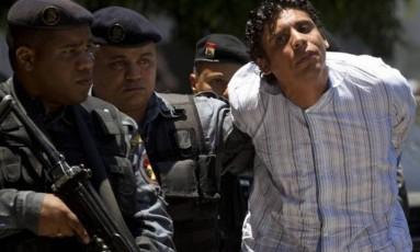 Antônio Bonfim Lopes em novembro de 2011, quando foi preso Foto: AP