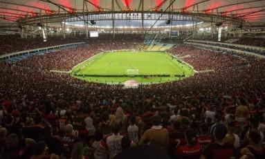 Flamengo mandará a partida contra o Vasco no Maracanã Foto: Guilherme Leporace / Agência O Globo
