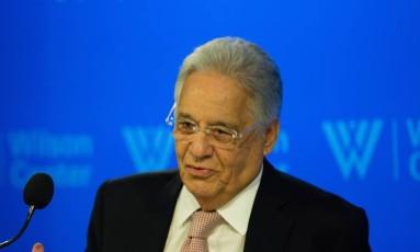 O ex-presidente Fernando Henrique Cardoso Foto: Divulgação / Divulgação/Agência O Globo