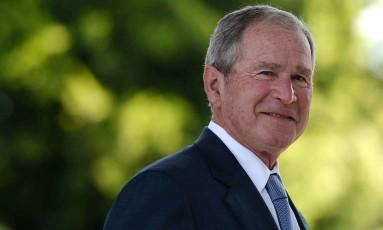 O ex-presidente dos Estados Unidos George W. Bush Foto: MONIRUL BHUIYAN / AFP