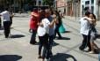 Carlinhos de Jesus organizou 'dançaço contra o fechamento da Estudantina Foto: Divulgação