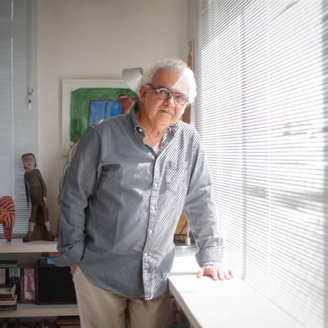 Milton Hatoum: primeiro livro de uma nova trilogia Foto: Marcos Alves / Agência O Globo