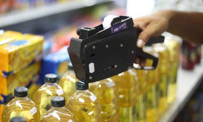 Prévia da inflação oficial fica em 0,34% em outubro