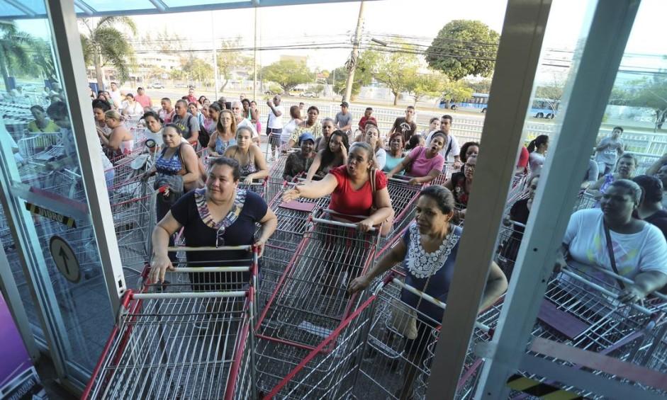 EC Rio de Janeiro (RJ) 20/10/2017 Aniversário do supermercado Guanabara. Na foto, a filial do supermercado na Avenida das Américas, Barra da Tijuca Foto: Márcia Foletto / Agência O Globo