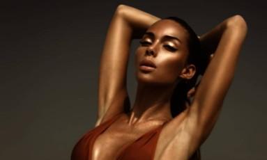 A modelo francesa Ines Rau Foto: Instagram / Reprodução