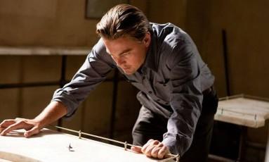 """No filme """"A origem"""", o personagem de Leonardo DiCaprio é capaz de controlar os sonhos Foto: REPRODUÇÃO"""