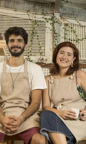 Mairê e Gabriella, os criadores do Estúdio Ripa Foto: Ana Branco / Agência O Globo