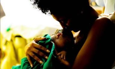 Sheron Menezzes com o filho, Benjamin Foto: Reprodução/Instagram