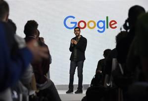 Sundar Pichai, diretor executivo da Google Foto: Michael Short / Bloomberg News/4-10-2016