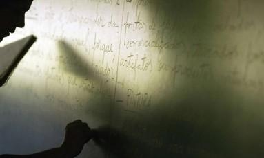 Programa de Fomento à Implementação de Escolas de Ensino Médio em Tempo Integral pretendia criar quase 150 mil vagas, mas 30% não saiu do papel Foto: Márcia Foletto/23-5-2006