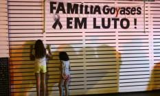 Colégio Goyases, em Goiânia, foi palco de tragédio que deixou dois estudantes mortos Foto: Jorge William / Agência O Globo