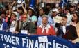 Avós da Praça de Maio protestam contra desaparecimento Foto: EITAN ABRAMOVICH / AFP