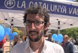 Juan Milián Querol, do Partido Popular Foto: Divulgação