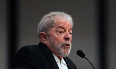 O ex-presidente Luiz Inácio Lula da Silva Foto: Sérgio Lima / AFP/9-10-17