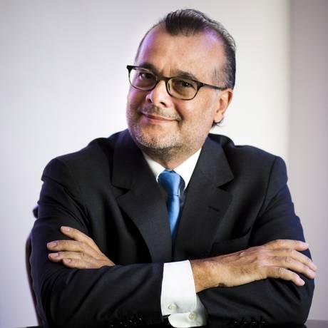 Ex-presidente do BC Gustavo Franco foi disputado por Livres e Novo Foto: Mônica Imbuzeiro / Agência O Globo / 1-2-17