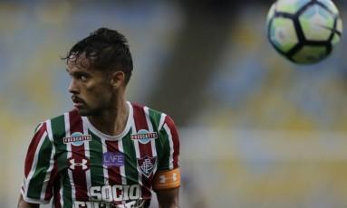 Fluminense tenta manter o bom momento Foto: Alexandre Cassiano / Agência O Globo