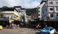 Um mês após invasão, moradores da Rocinha ainda vivem em clima de tensão Foto: Fabiano Rocha / O Globo