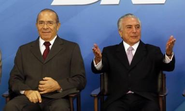 Auxiliares dizem que Temer terá entre 250 e 270 votos pela derrubada da denúncia Foto: Givaldo Barbosa / Agência O Globo 10-05-2017