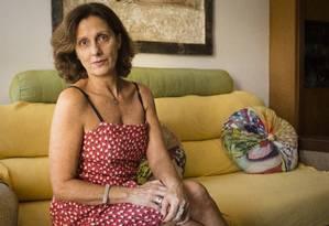 Esforço: A empresária Cristina Leão trabalha desde os 14 anos e criou o filho sozinha, como em 16% dos lares do país Foto: Fernando Lemos / Agência O Globo