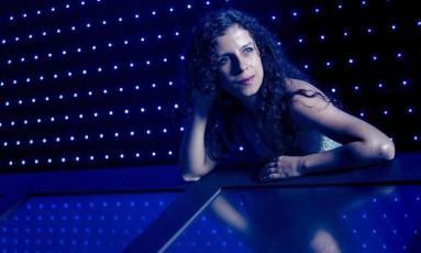 A cantora cega Sara Bentes Foto: Leo Martins
