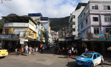 A Favela da Rocinha Foto: Fabiano Rocha / Agência O Globo / Arquivo