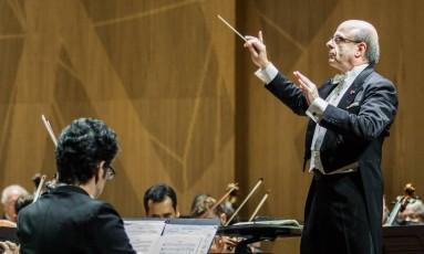 Concerto Beneficente em prol da Orquestra Sinfônica Brasileira, com regência dlo maestro Roberto Tibiriçá e o pianista Leonardo Hilsdorf como solista. Foto: Cicero Rodrigues