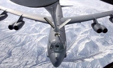 O bombardeiro americano B-52 Foto: Divulgação