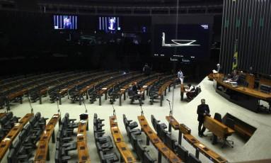 Sessão não-deliberativa da Câmara dos Deputados Foto: Jorge William/Agência O Globo/19-09-2017