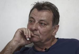 O ex-ativista italiano Cesare Battisti, em Cananeia, no estado de São Paulo Foto: Miguel Schincariol/AFP/20-10-2017