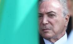 O presidente Michel Temer Foto: Givaldo Barbosa / Agência O Globo