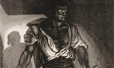 'Le Forgeron', de 1833, de Eugène Delacroix (1798-1863) Foto: Iara Venanzi/Itaú Cultural / Iara Venanzi