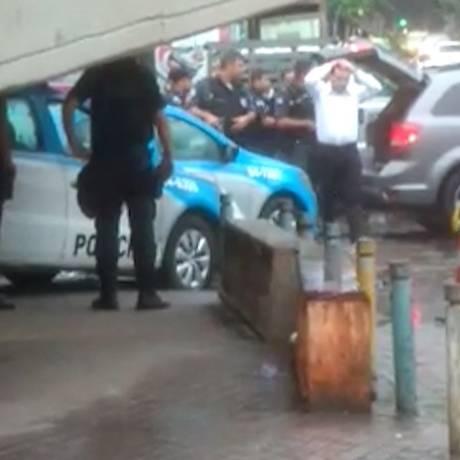 Turista espanhola foi baleada na Rocinha Foto: reprodução de vídeo / Agência O Globo