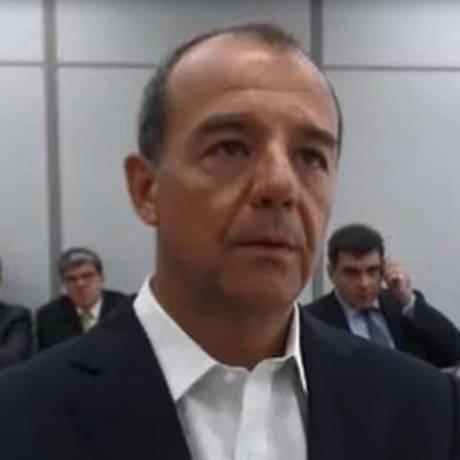 O ex-governador Sérgio Cabral Foto: Reprodução 24/10/2017