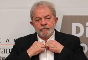 O ex-presidente Luiz Inácio Lula da Silva 9/10/2017 Foto: SERGIO LIMA / AFP