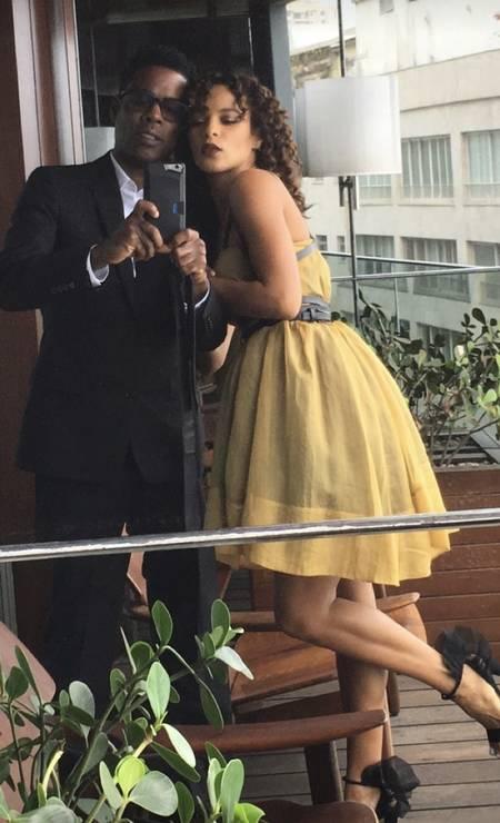 Chris Rock e Megalyn Echikunwoke Foto: Reprodução Instagram