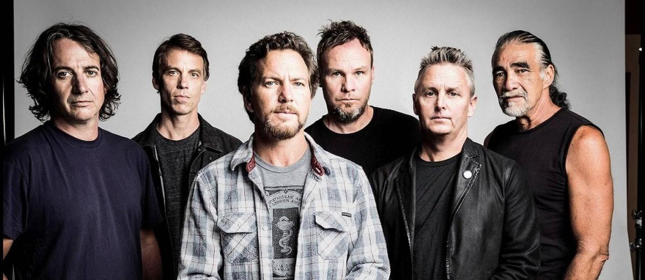 A banda Pearl Jam Foto: Danny Clinchlow/Divulgação