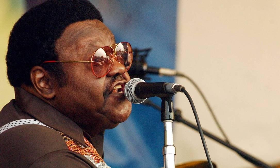 Morre Fats Domino, lenda do rock, aos 89 anos