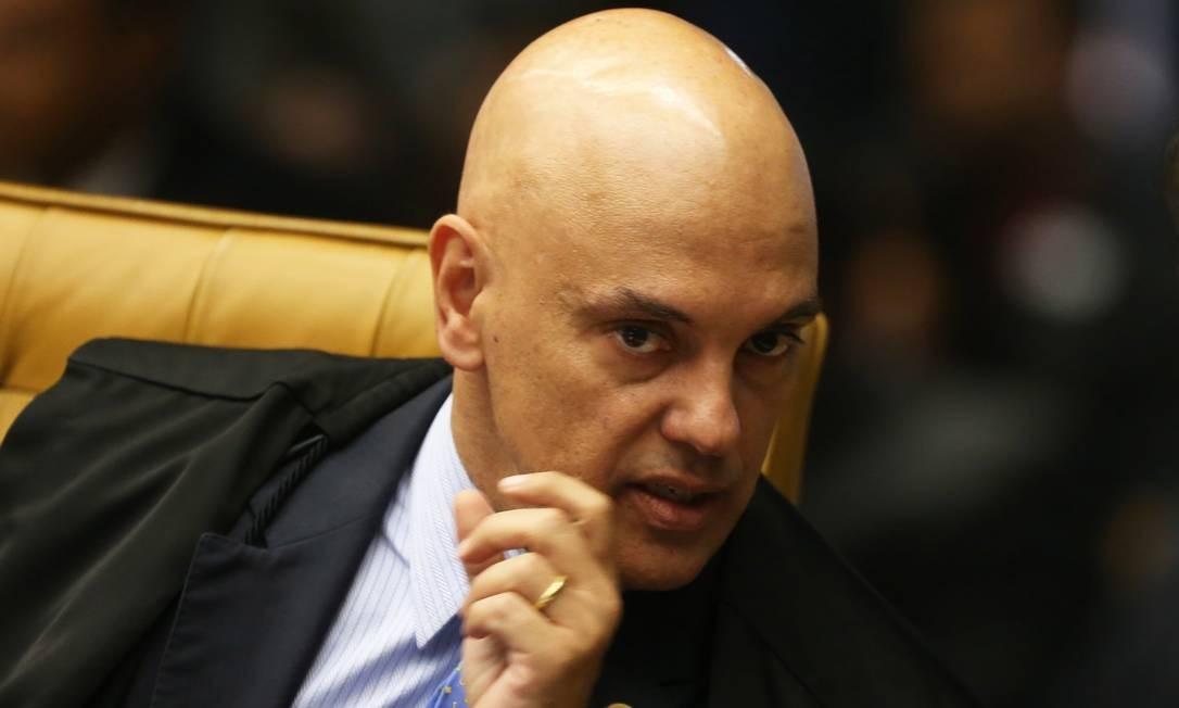 Ministro do Supremo Tribunal Federal (STF), Alexandre de Moraes Foto: Givaldo Barbosa / Agência O Globo