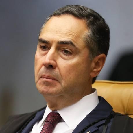O ministro do Supremo Tribunal Federal (STF) Luís Roberto Barroso Foto: Givaldo Barbosa / Agência O Globo