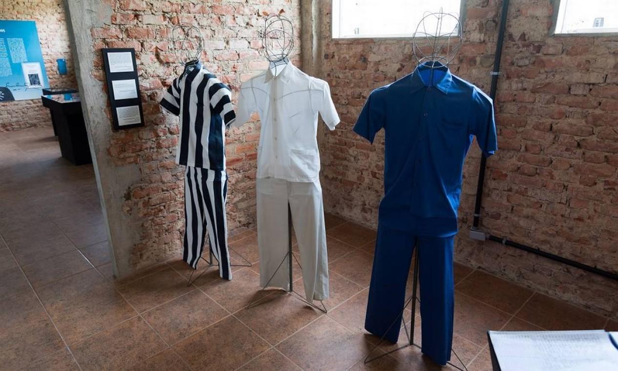 No Museu do Cárcere há exibição sobre a história dos presídios da Ilha Grande Foto: Alex Ferro / Agência O Globo