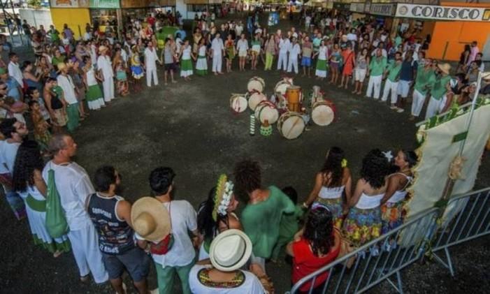 Evento durante o Festival da Cachaça em Paraty Foto: ANDRÉ AZEVEDO / Divulgaçao