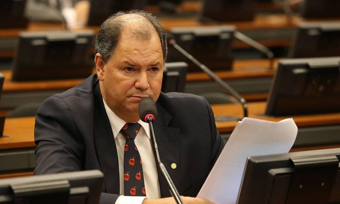 O deputado Alceu Moreira (MDB-RS), presidente daFrente Parlamentar da Agropecuária (FPA) Foto: Aílton de Freitas / Agência O Globo