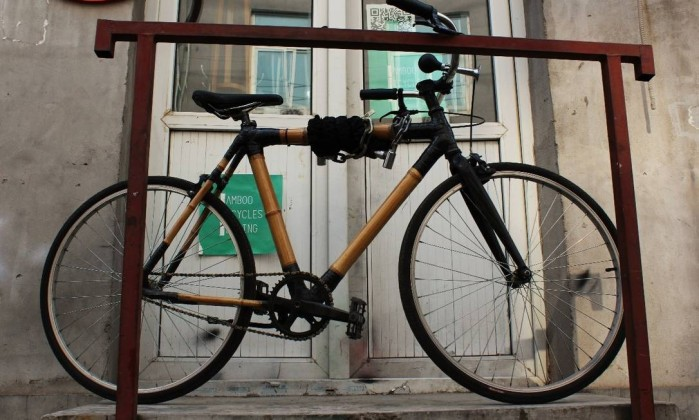 Para incentivar a mobilidade sustentável, chinês constrói bicicleta feita de bambu e percorre 2.400 km Foto: Cibele Reschke