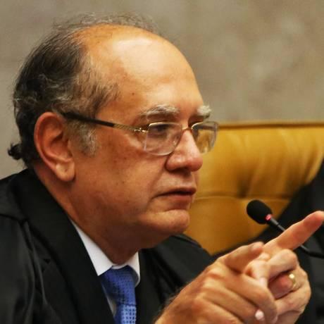 O ministro Gilmar Mendes, do STF Foto: Givaldo Barbosa / Agência O Globo / 26-10-17