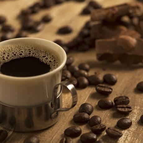 Pesquisa feita na Itália revela que café e chocolate fazem bem ao coração Foto: Dante Pires / .