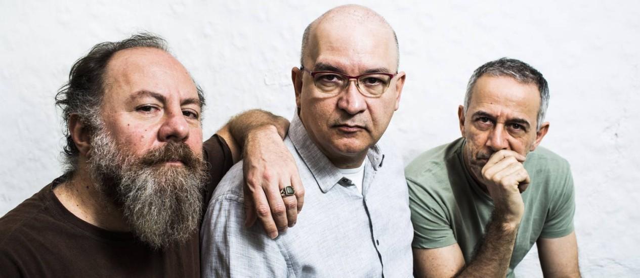 Os veteranos do rock brasileiro demonstram as músicas de seu 13º álbum de estúdio Foto: Mônica Imbuzeiro / Mônica Imbuzeiro