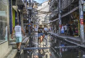 Prefeitura desistiu de projeto de verticalização de Rio das Pedras Foto: Fábio Cordeiro / Agência O Globo