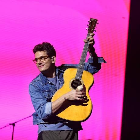 John Mayer em show no Rio Foto: Luiz Henrique Estevam / Zimel / Agência O Globo