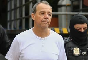 Ex-governador do Rio aguarda transferência para presídio federal no MS Foto: Geraldo Bubniak / Geraldo Bubniak