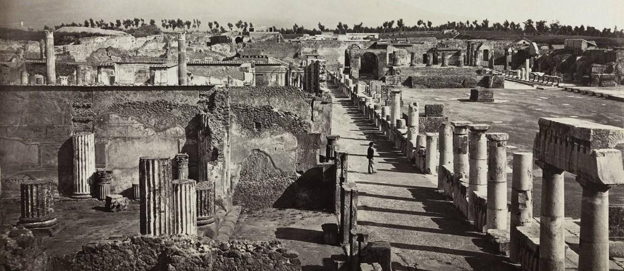 """Imagem da Exposição """"Uma viagem ao mundo antigo"""" Foto: Divulgação"""